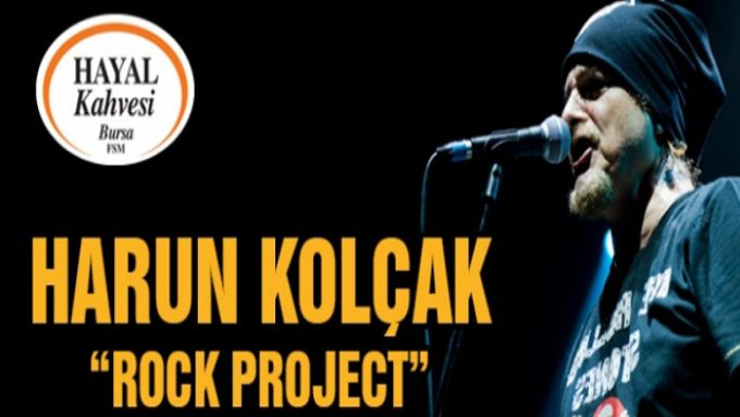 Harun Kolçak ''Rock Project''