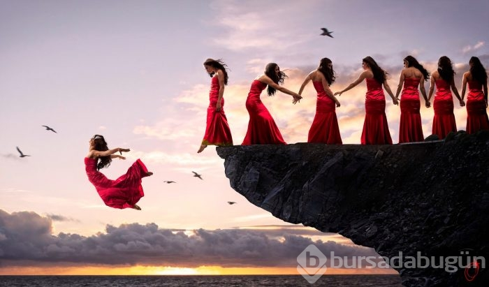 photo of girls who dream of a guy jumping № 103626