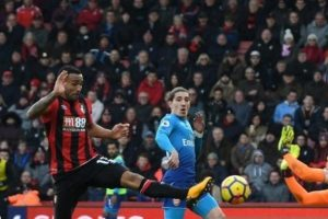 Arsenal'in serisini Bournemouth bitirdi!