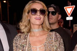 Paris Hilton da Cannes'da
