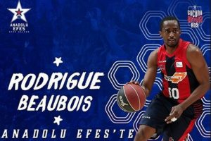 Rodrigue Beaubois, Anadolu Efes'te