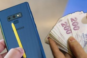 Galaxy Note 9'a zam geldi
