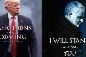 HBO ve Game of Thrones ekibinden Trump'a poster tepkisi
