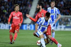 Real Madrid'e bir çelme de Leganes'ten