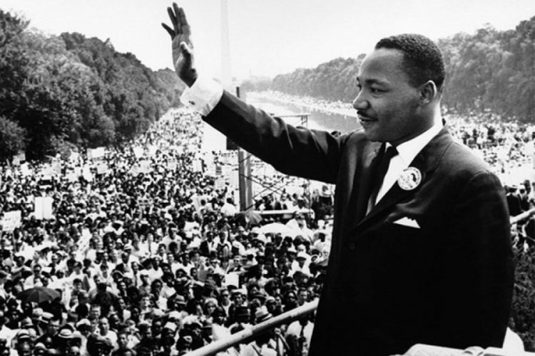 Martin Luther King Jr. anıldı