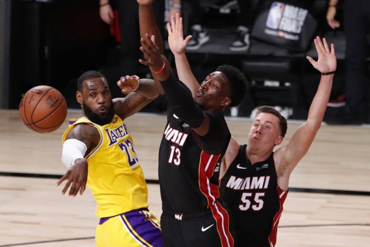 NBA finalinde ilk adım Los Angeles Lakers'tan