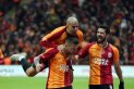 Galatasaray, deplasmanda derbi galibiyetine has...