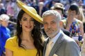 George ve Amal Clooney: Meghan Markle ve Prens ...
