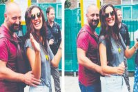 Bergüzar Korel ile Halit Ergenç'in karnaval key...