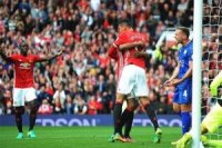 Manchester United, Leicester City'yi 4 golle ge...