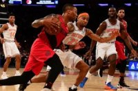NBA'de Portland deplasmanda New York Knicks'i m...