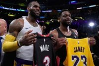 LeBron James ve Dwyane Wade'den son bir dans!
