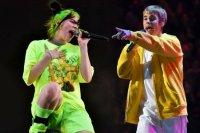 Justin Bieber'dan Billie Eilish'e destek