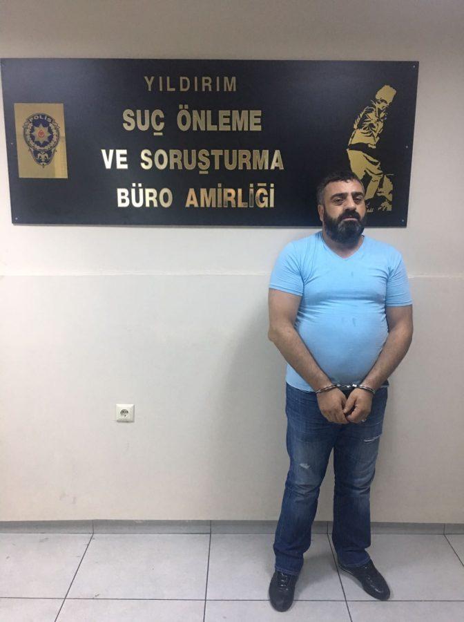 İnterpol tarafından aranan zanlı Bursa'da yakalandı ile ilgili görsel sonucu