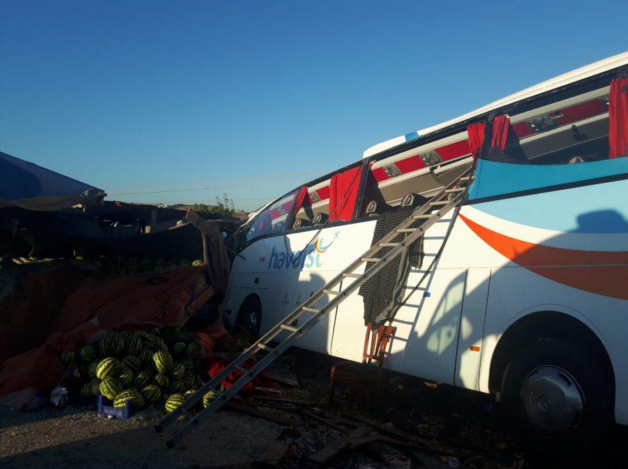 havaist kaza otobüs ile ilgili görsel sonucu