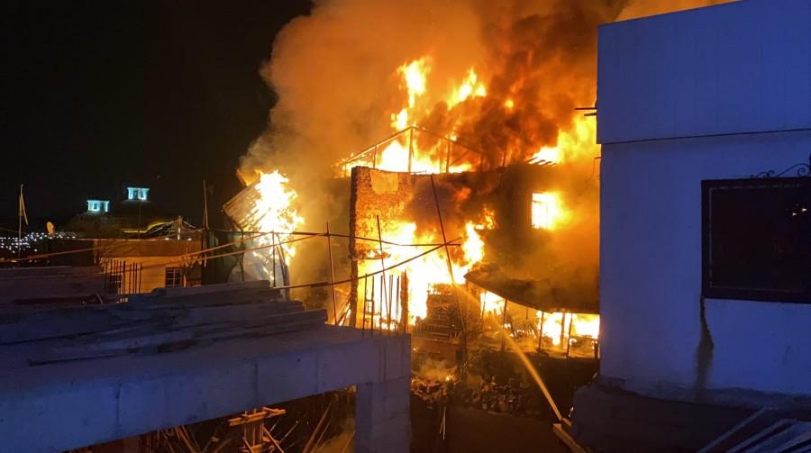 Bursa'da kafede yangın - Bursada Bugün - Bursa bursa haber bursa haberi  bursa haberleri Bursa