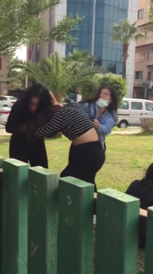 5 kız tekme tokat kavga etti! - Güncel Haberler - Bursadabugun.com