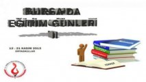 Bursa'da Eğitim Günleri