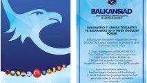 BALKANSİAD Onur Ödülleri Sahiplerini Buluyor