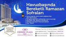Havuz Başında Bereketli Ramazan Sofraları
