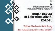 Bursa Devlet Klasik Türk Müziği Korosu Konseri