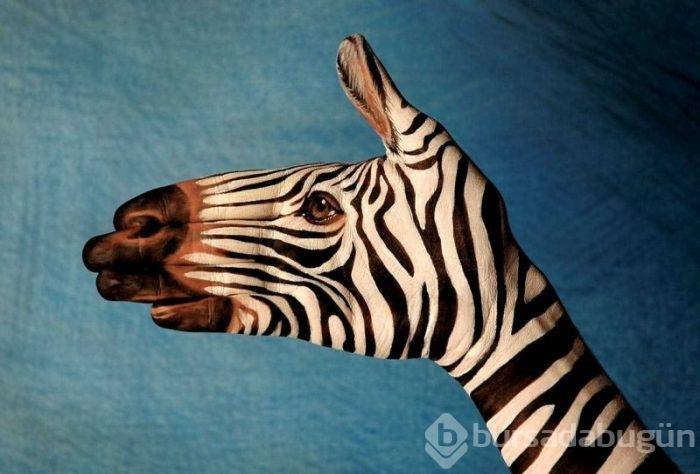 El Boyama Sanati Ile Hayvan Figurleri Foto Galerisi 10