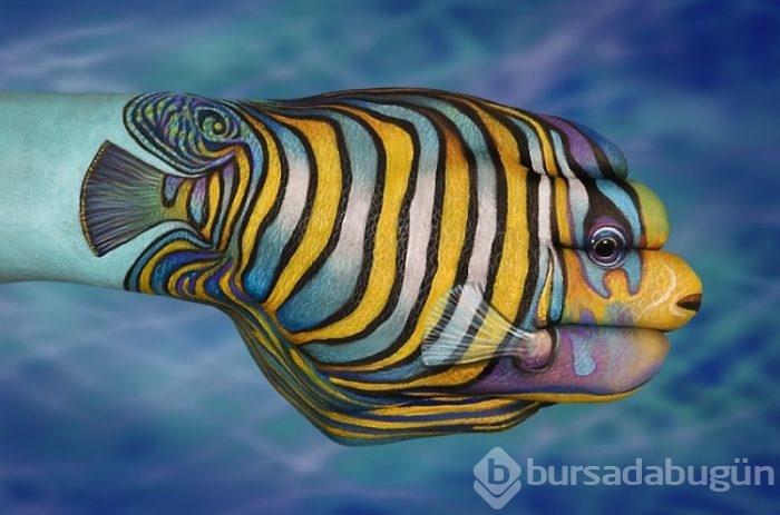 El Boyama Sanatı Ile Hayvan Figürleri Foto Galerisi 20