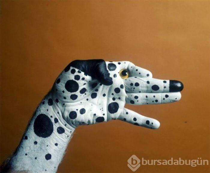El Boyama Sanati Ile Hayvan Figurleri Foto Galerisi 26
