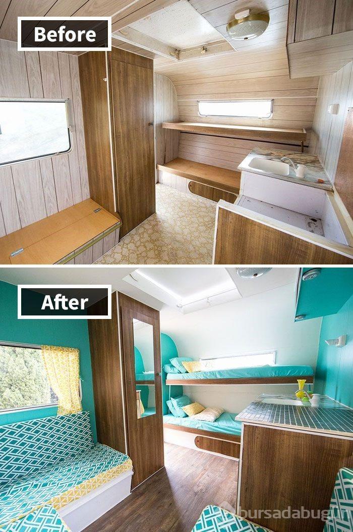 En Güzel Ev Yenileme örnekleri öncesi Sonrası Foto Galerisi 11