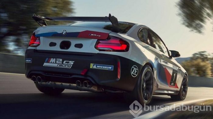 BMW M2 CS Racing'i tanıttı!