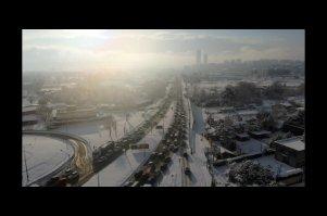Kar yağışı Bursa'da trafiği felç etti!