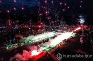 Bursaspor'da coşkulu 58. yıl kutlaması
