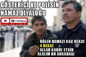 Polisten Camiye Saklanan Gostericiye Ogle Namazi Kac Rekat