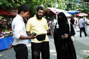 Bursa'da arap turist skandalı