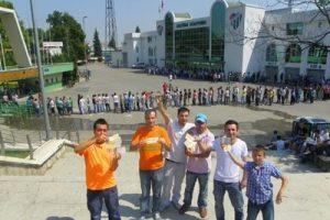 Ramazan'da sıcak havada bilet çilesi