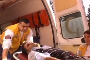 Otobüs şoförünü bayıltana kadar dövdüler