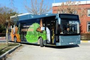 İlk yerli hibrit otobüs