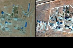 İran'ın en önemli füze tesislerinden biriydi