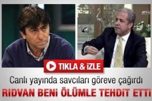 """Şamil Tayyar: """"Rıdvan Dilmen beni tehdit etti"""""""