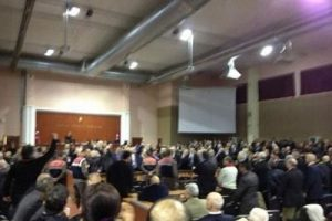 Duruşma salonundan ilk fotoğraf