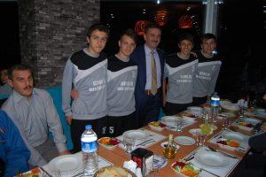 Atatepe'de şampiyonların gurur gecesi