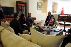 Cüneyt Ünal'dan Kılıçdaroğlu'na teşekkür ziyareti