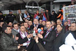Trabzonspor taraftarları Olimpiyat'a akın etmeye hazırlanıyor