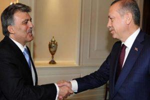 Gül, Erdoğan'ı kabul etti
