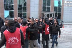 İstanbul'da işçi-polis arbedesi