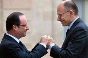 Hollande ve Letta'dan büyüme mesajı