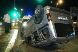 Aşırı hızla gelen kaza