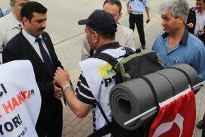 PTT çalışanları  sırt çantasıyla Ankara'ya yürüyecekler