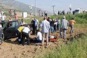 İzmir-Aydın hattında tren kazası