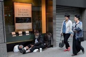 New York sokakları onların